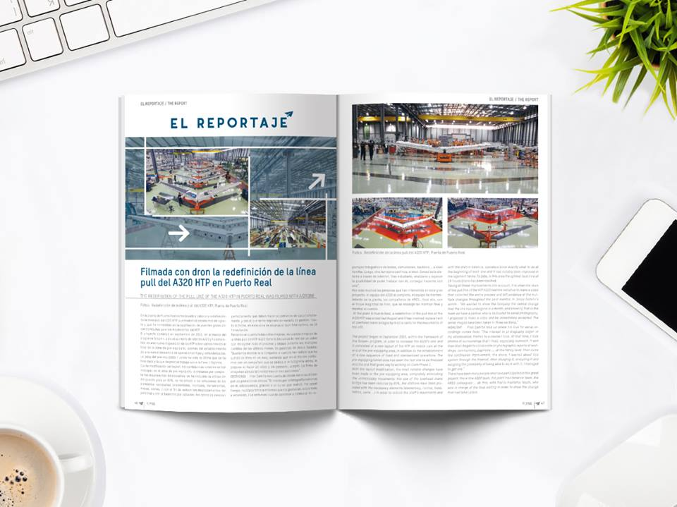 Revista corporativa Flying - Lima publicitarios