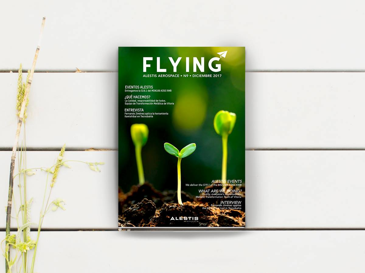 Revista corporativa Flying
