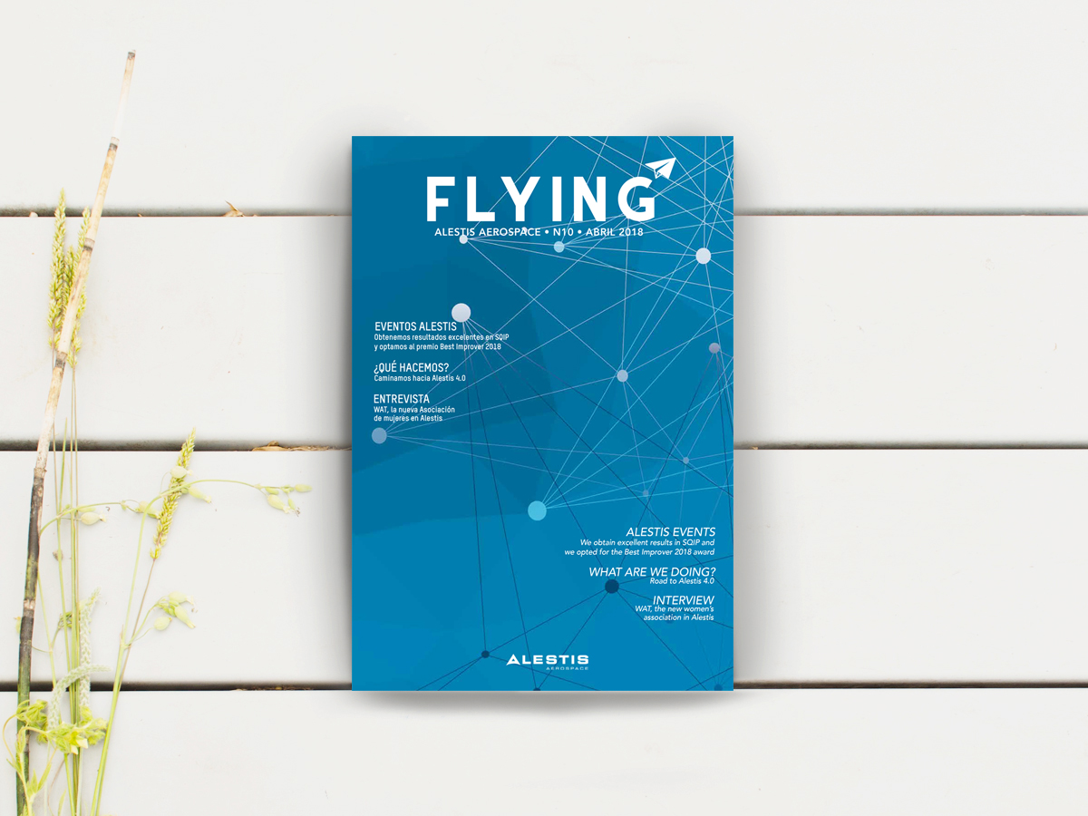 Diseño y Maquetación revista Flying 10